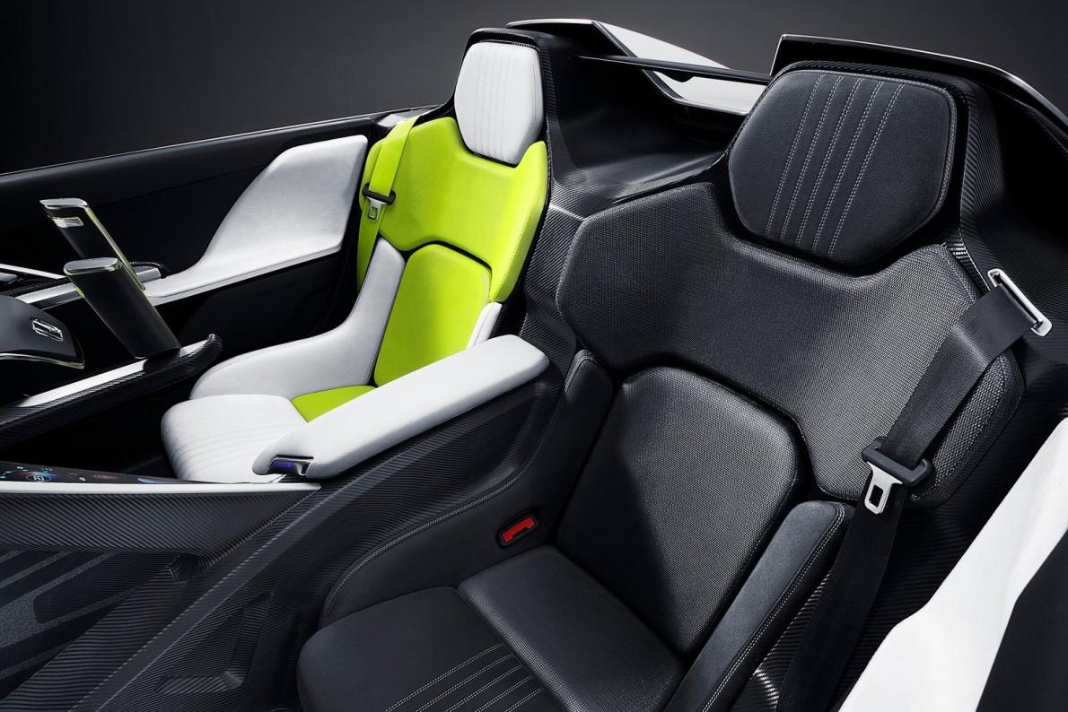 2011款 本田 EV-Ster Concept 官图 座椅空间