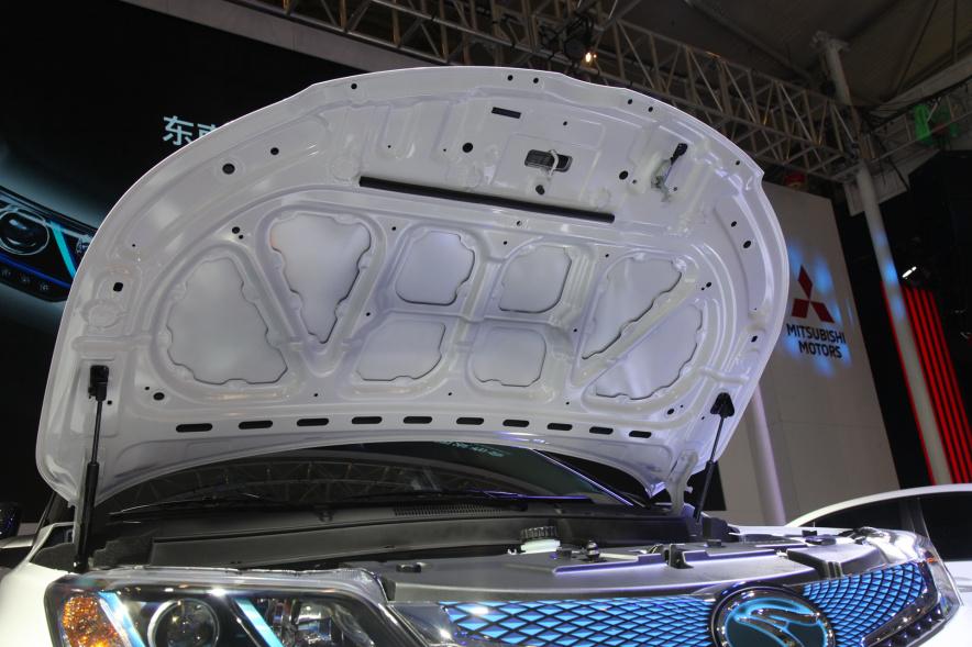 2018款 东南 DX3 EV400 车展 动力底盘
