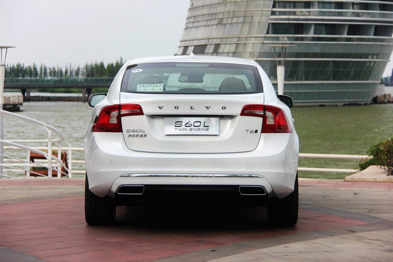 2015款 沃尔沃S60L T6智越(E驱混动)版 实拍 外观
