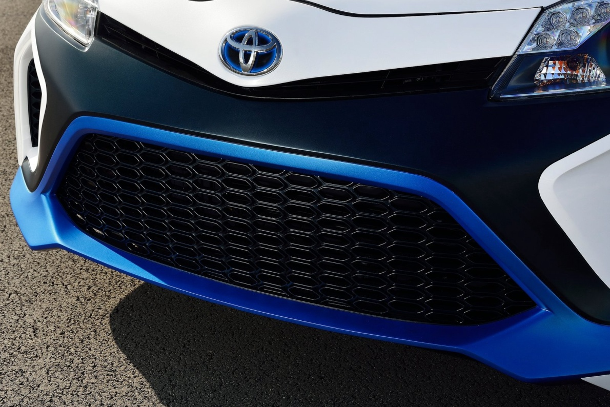 2013款 丰田 YARIS Hybrid-R Concept 官图 外观细节