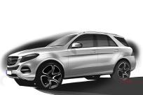 2016款 奔驰GLE 500e 官图 外观