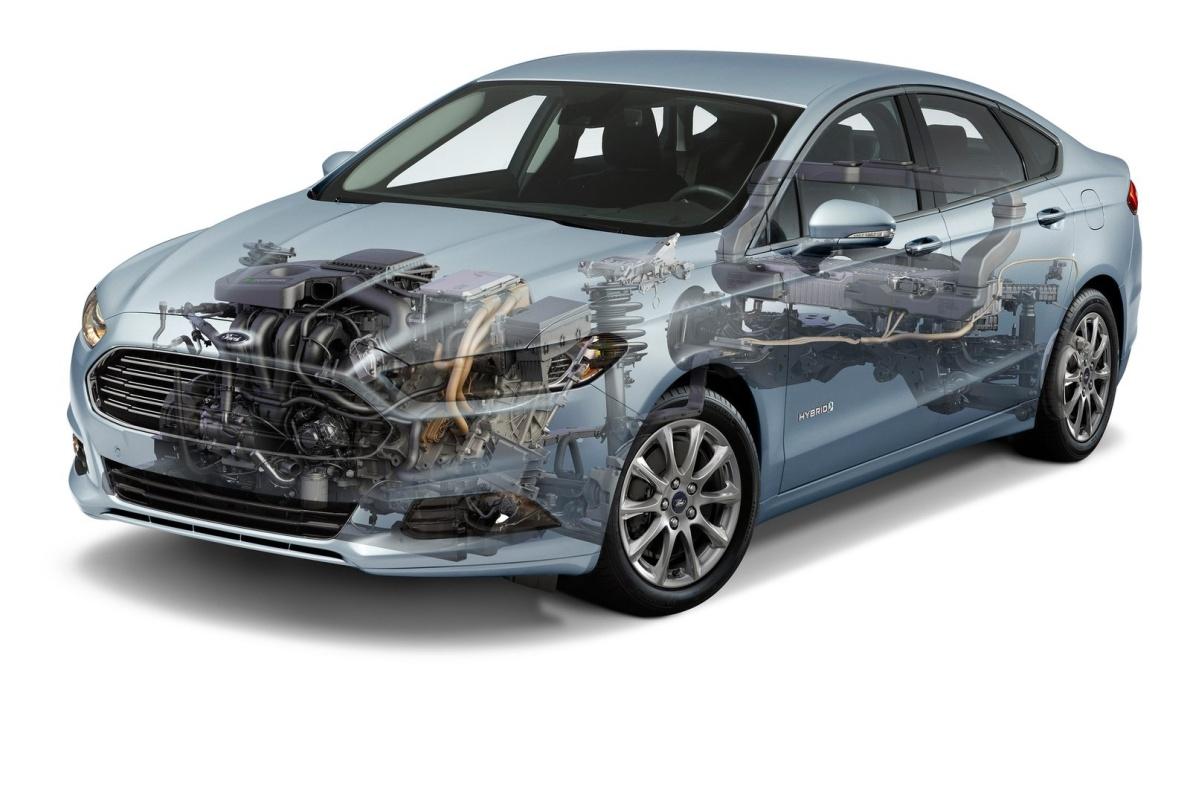 2015款 蒙迪欧(海外) Hybrid 官图 动力底盘