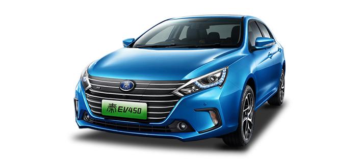 2018款 比亚迪 秦 EV450 头图