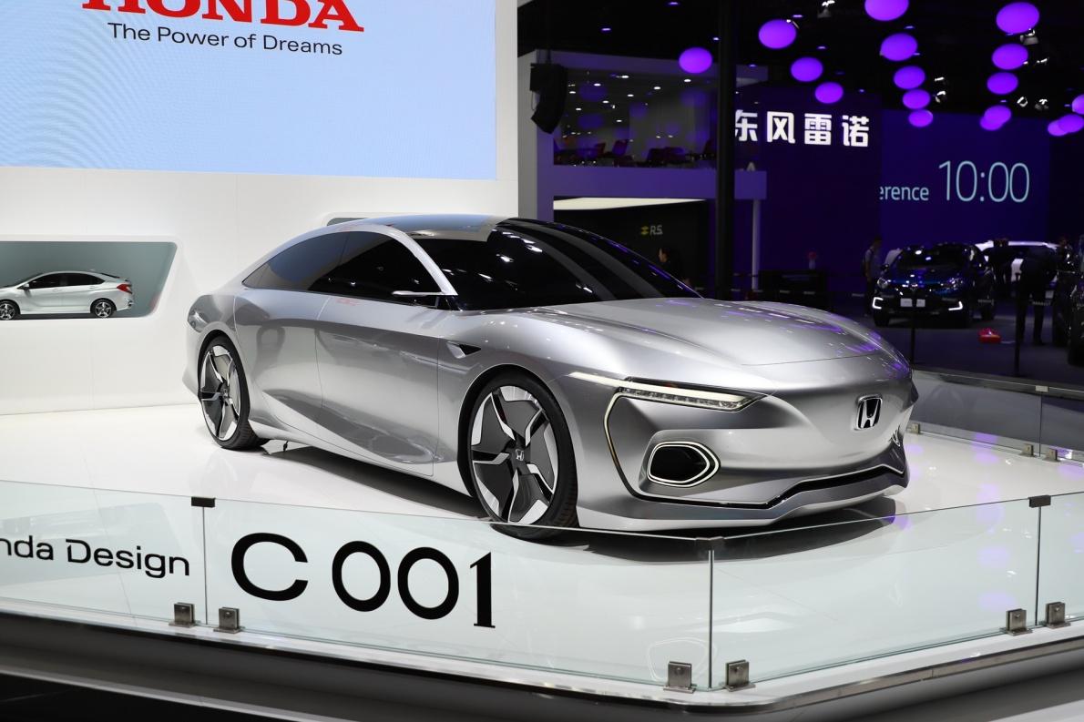 2018款 本田 C001 Concept 车展 外观