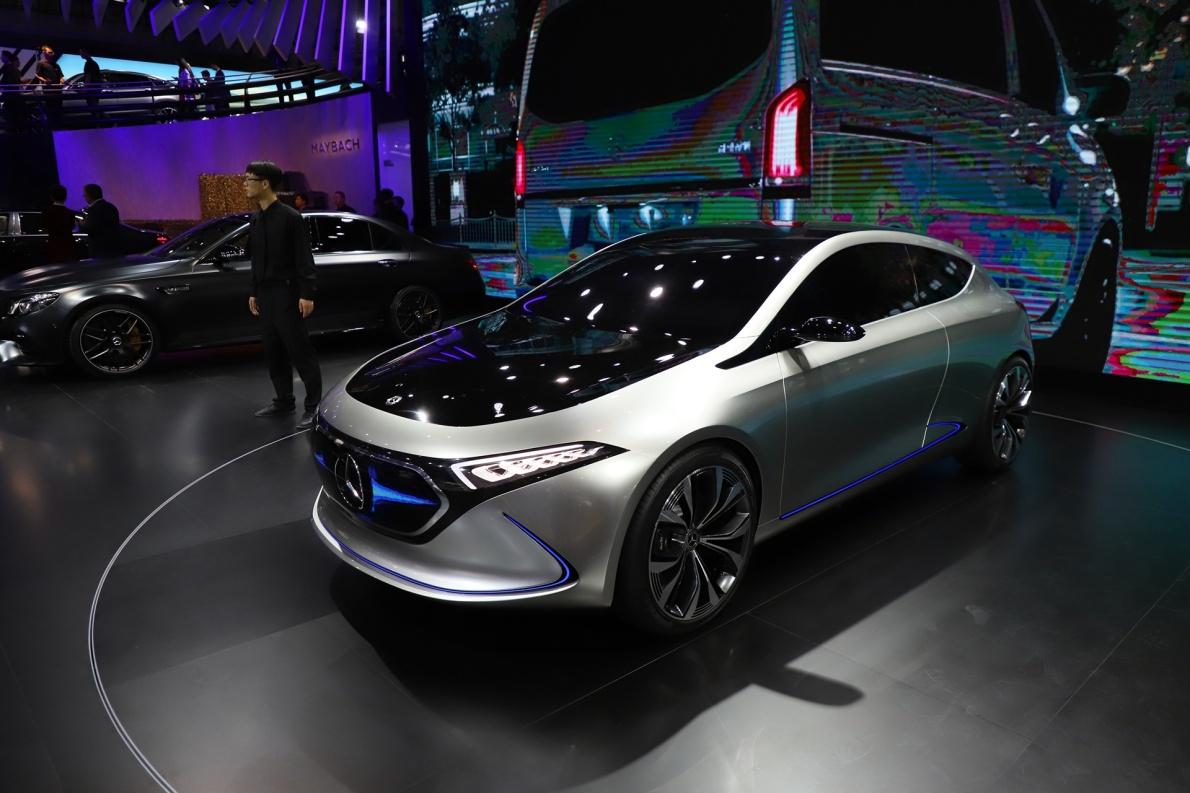 2018款 奔驰 EQ A 车展 外观