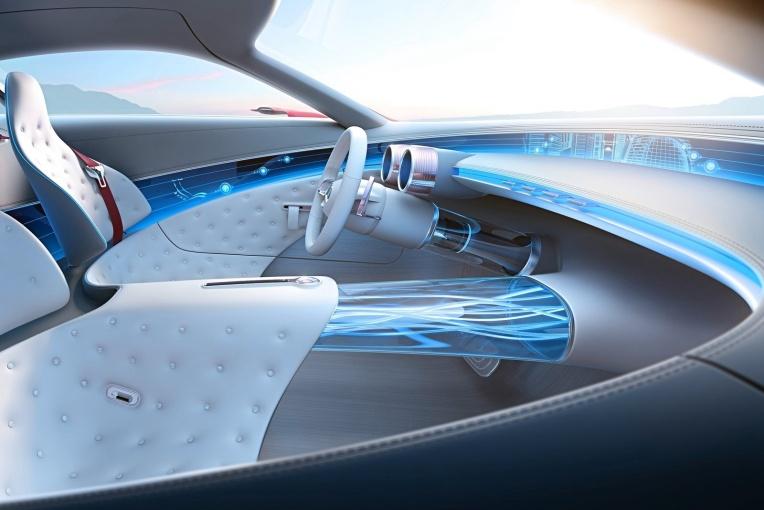 Vision Mercedes-Maybach 6 座椅空间