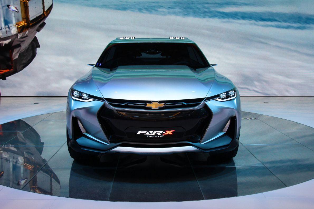 2017款X雪佛兰FNR-X 车展