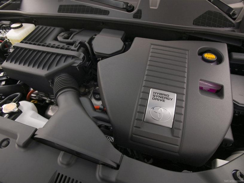 2008款 丰田 汉兰达 Hybrid 官图 动力底盘