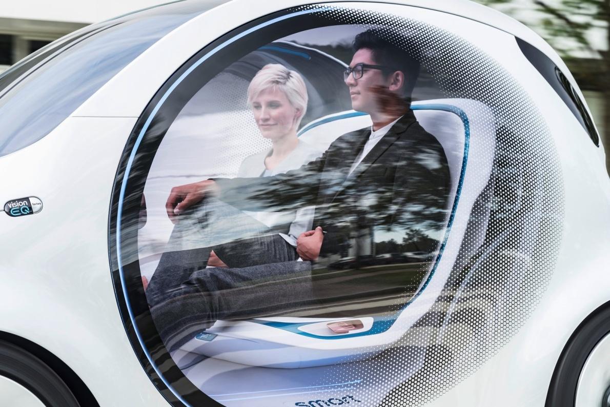 2017款 Smart Vision EQ ForTwo Concept 官图 外观