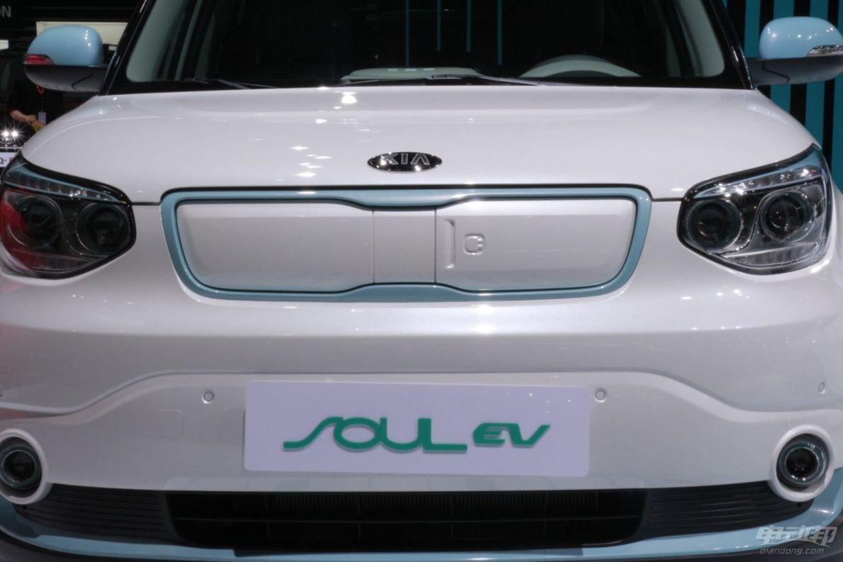 2014广州车展 起亚 Soul EV