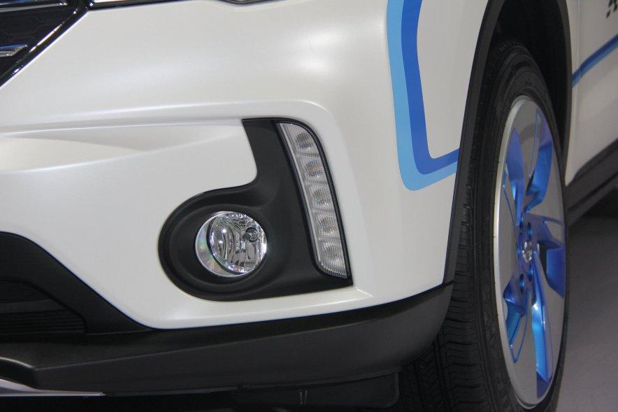2016款 广汽传祺GS4 EV 车展实拍图 外观细节
