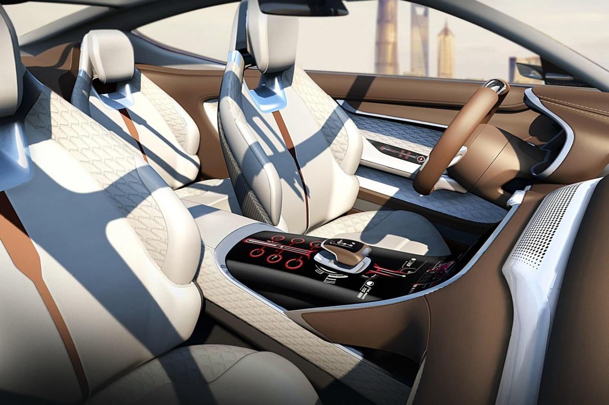 2017款 MG E-motion Concept 官图 座椅空间