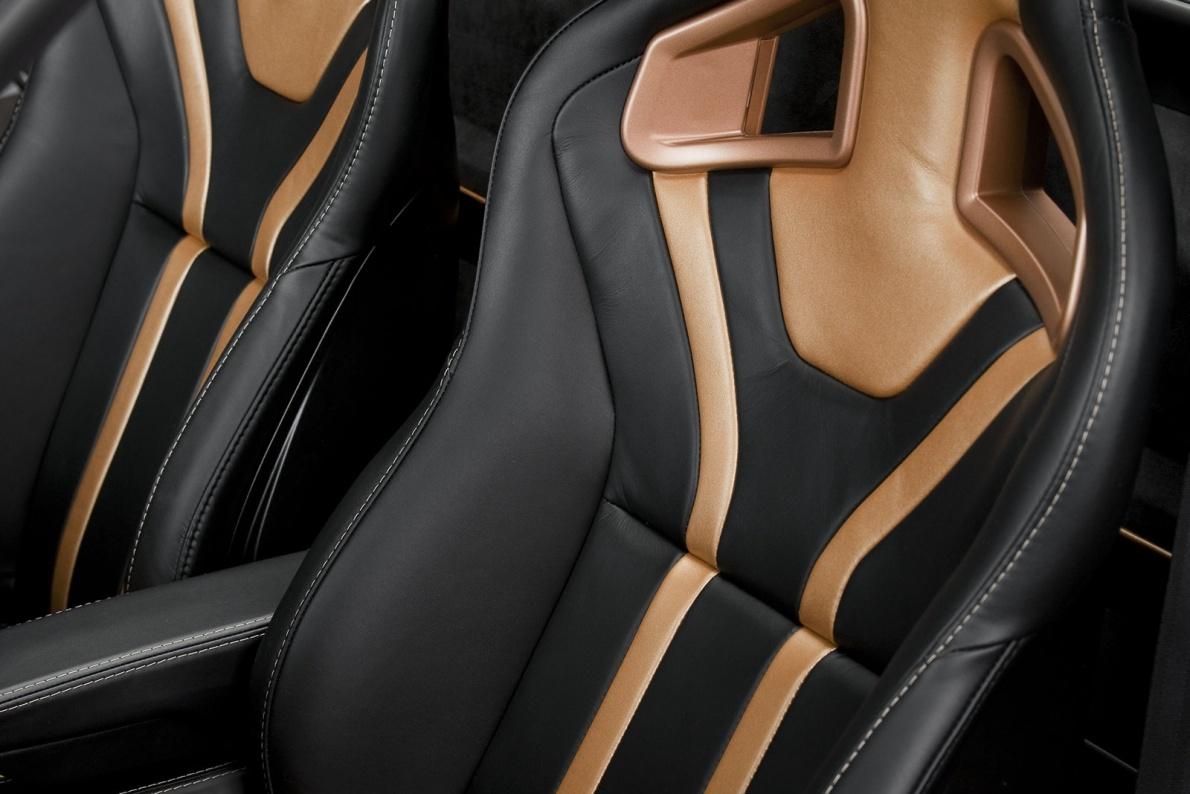 2010款 路特斯 Evora 414E Hybrid Concept  官图 座椅空间