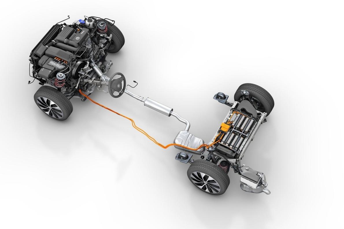 2013款 大众Jetta Hybrid 官图 动力底盘