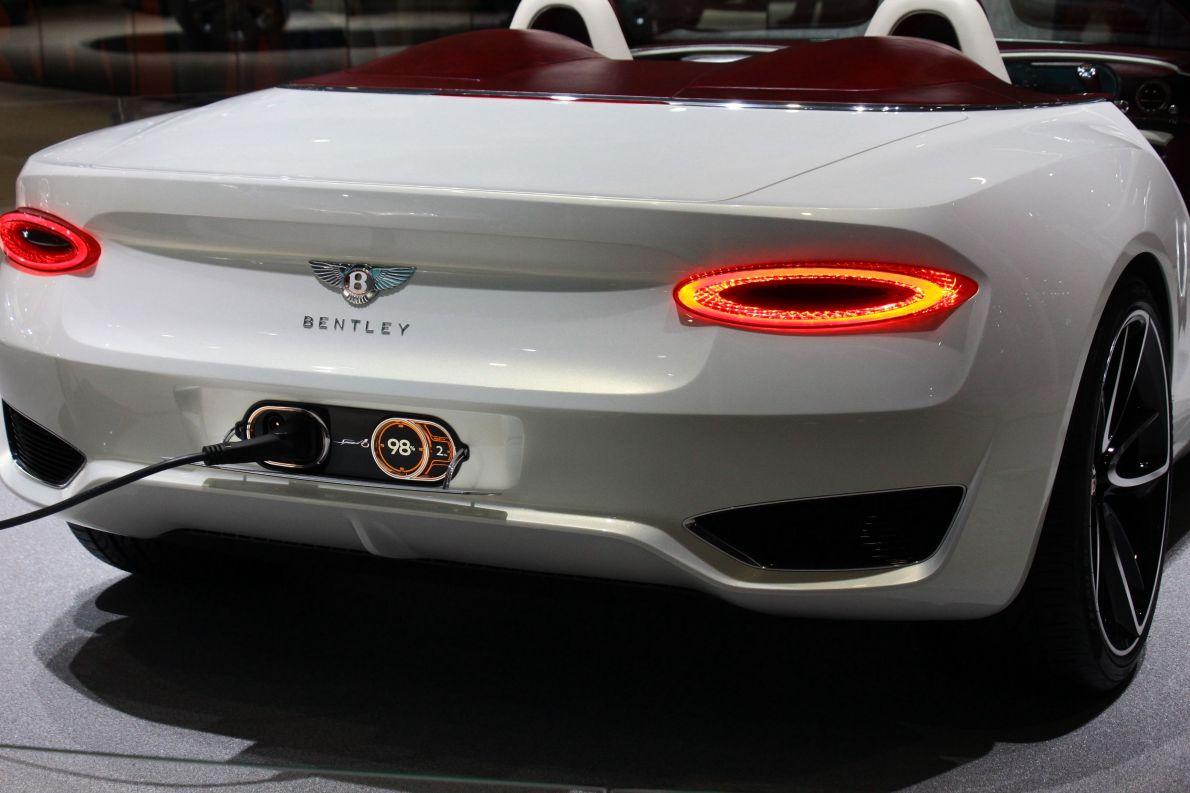 2017款宾利 EXP 12 Speed 6e 车展 细节