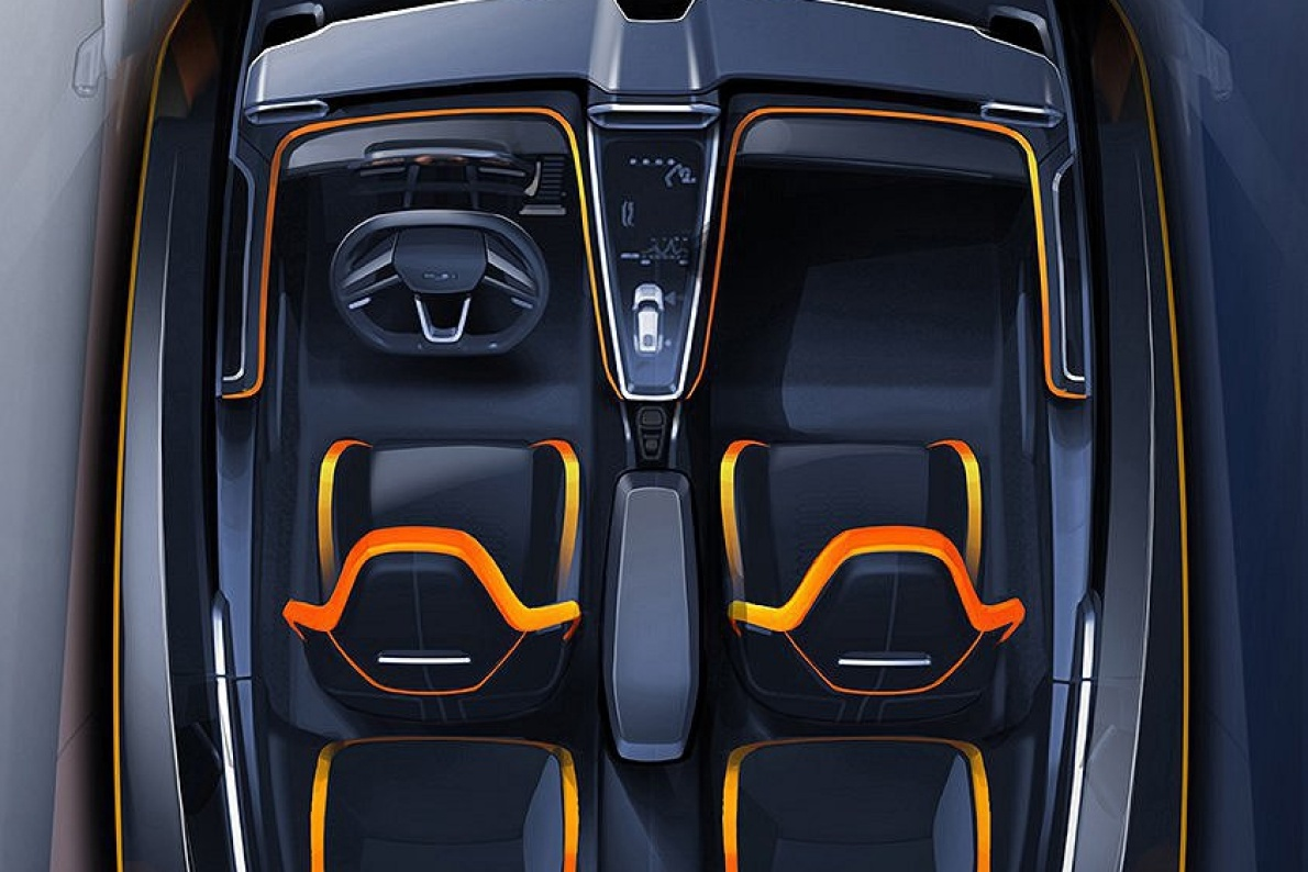 2016款 Giugiaro GT ZERO 官图 座椅空间