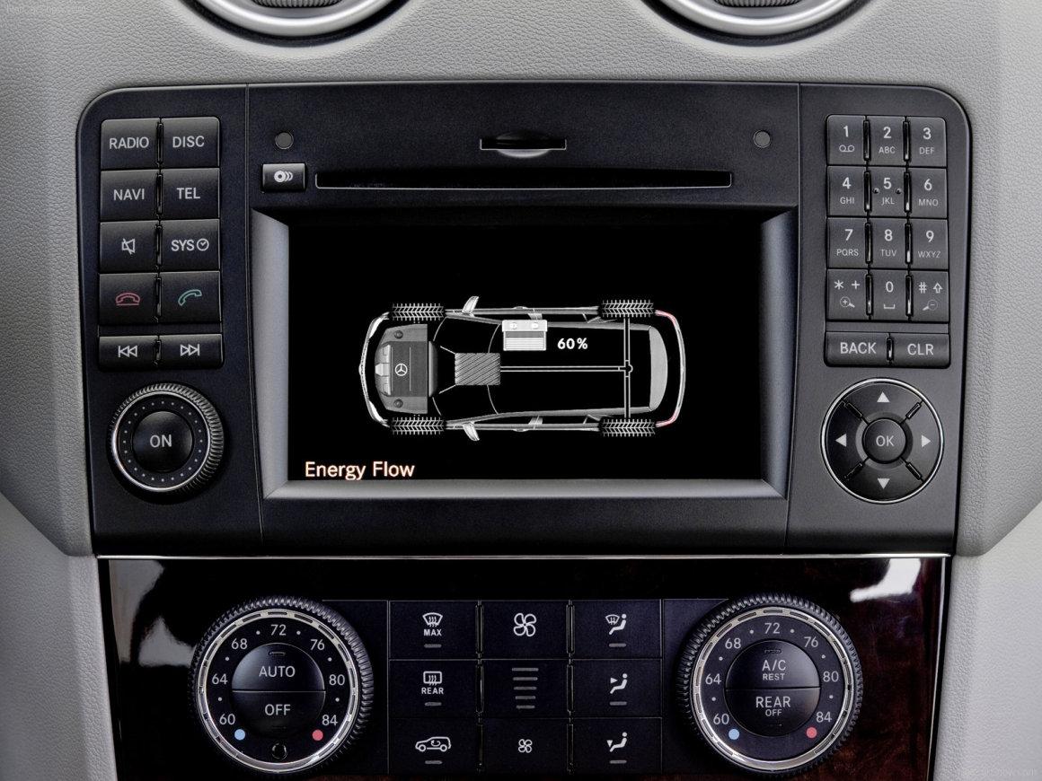 2010款 奔驰 M级 ML450 Hybrid 官图 内饰