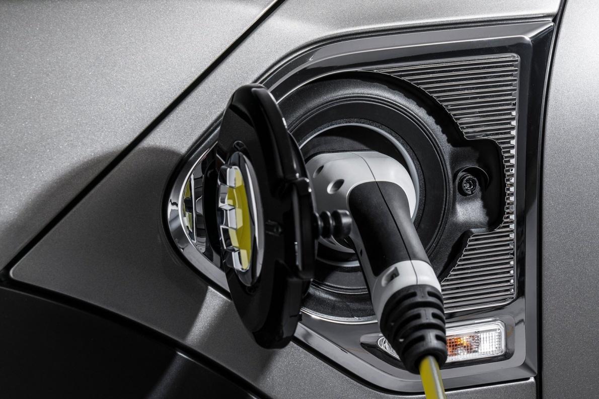 2017款 MINI Countryman Plug-in Hybrid 官图 充电