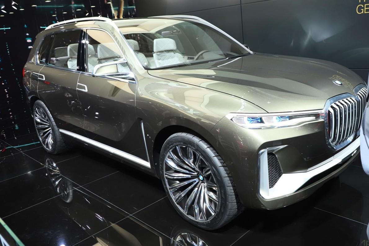 2018款 宝马 X7 车展 外观
