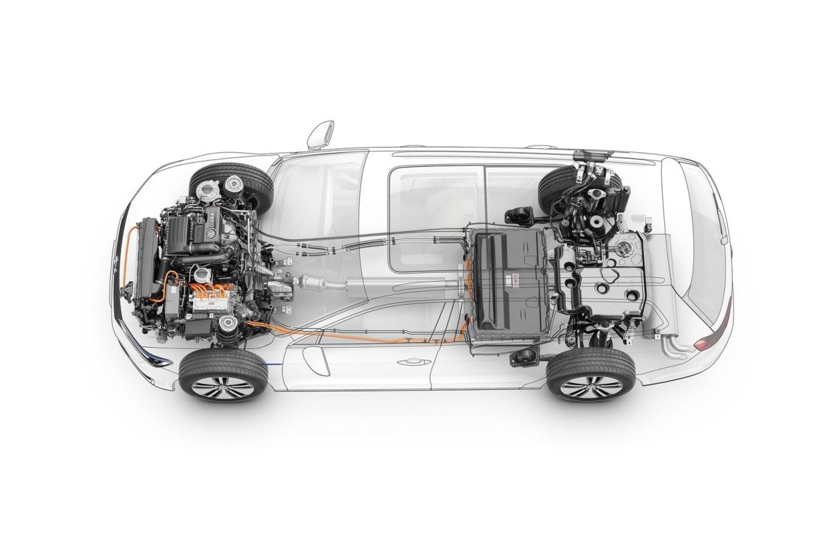 2015款 大众Passat GTE 旅行版 官图 动力底盘