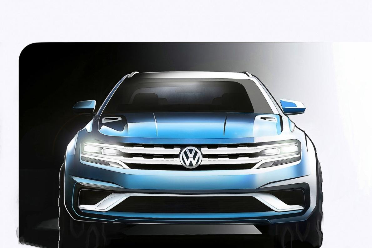 2015款 大众 Cross Coupe GTE Concept 官图 外观