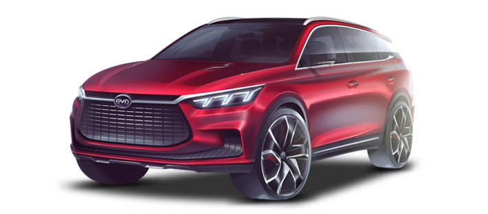 2017款 比亚迪 王朝概念车 头图