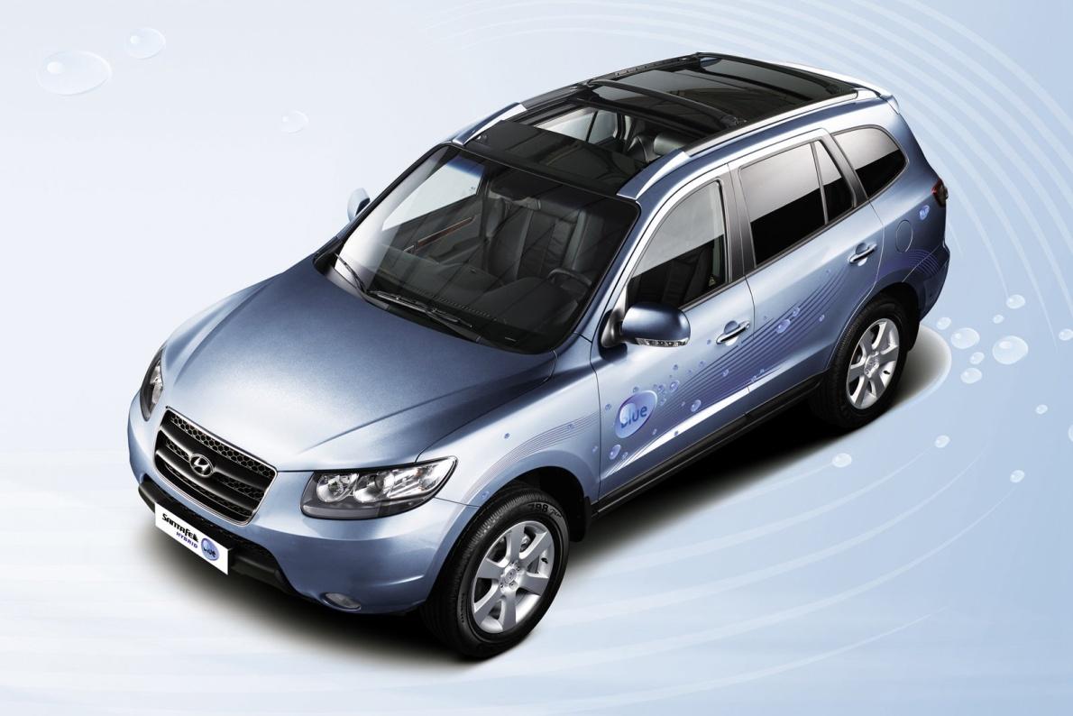 2008款 现代 圣达菲 Blue Hybrid Concept 官图 外观