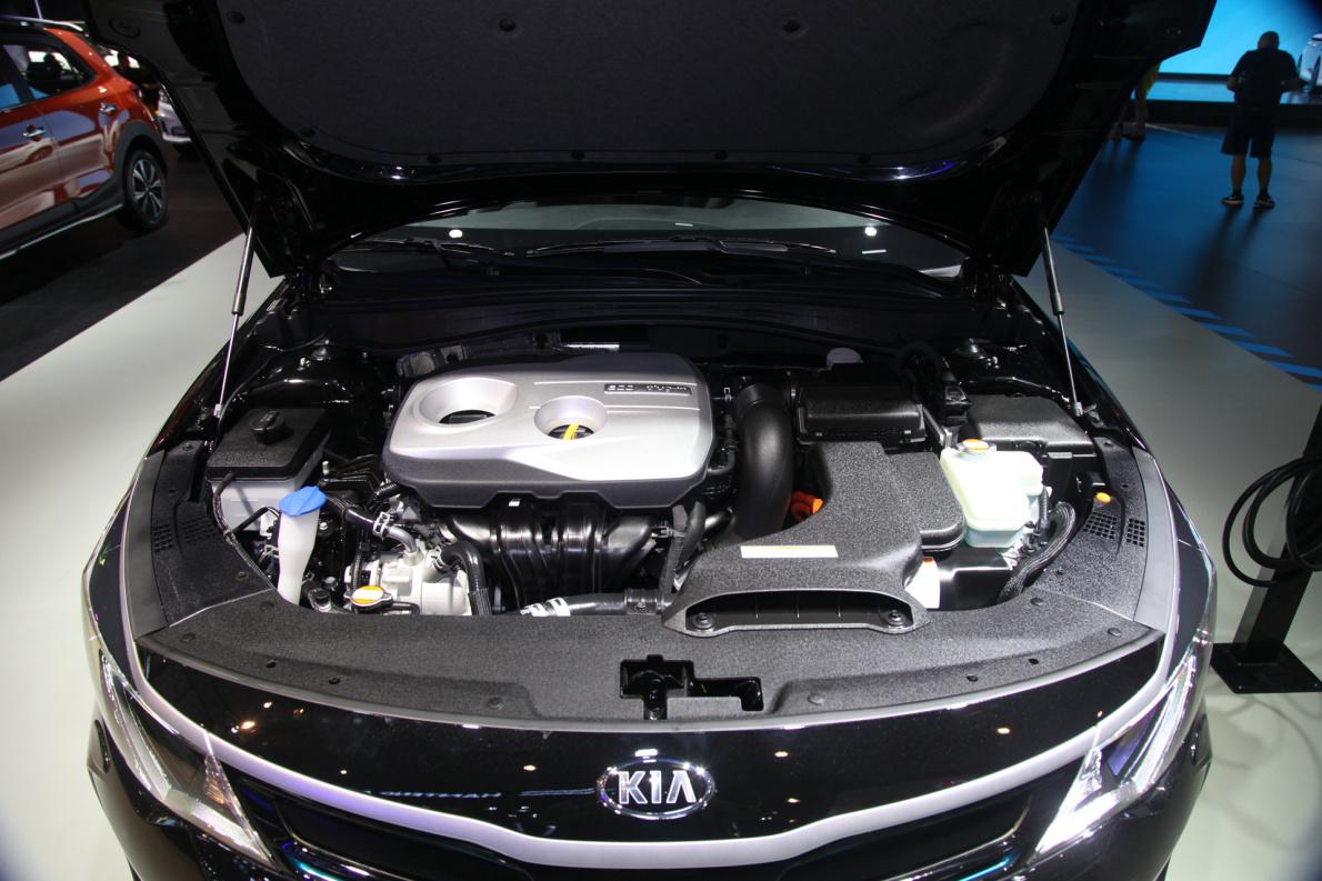 2018款 起亚 K5 PHEV 车展 动力底盘