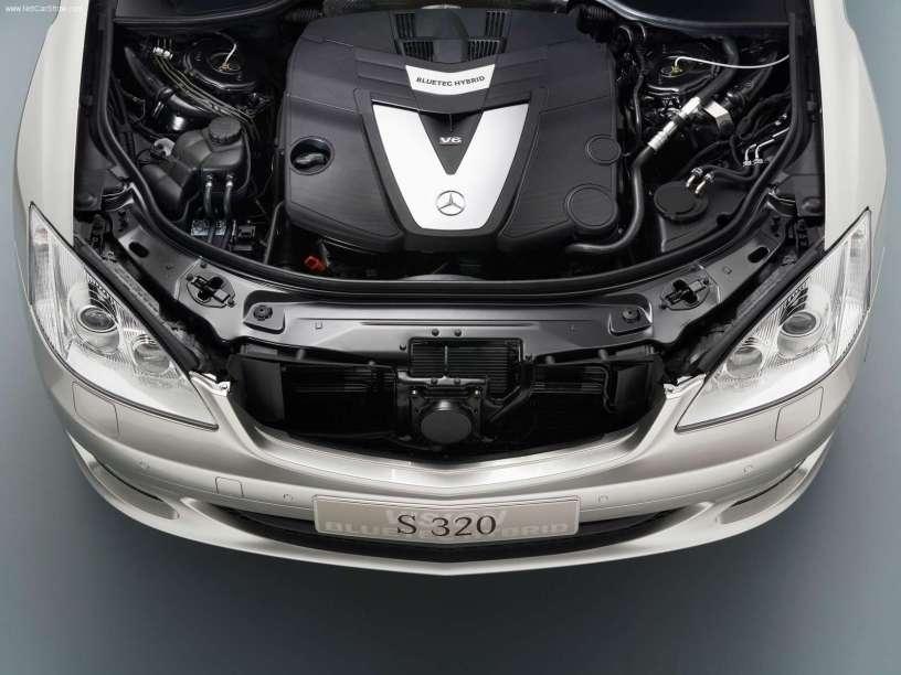 2005款 奔驰 S级 Bluetec Hybrid Concept 官图 动力底盘