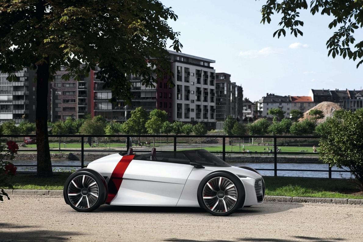 2011款 奥迪 Urban Spyder Concept 官图 外观