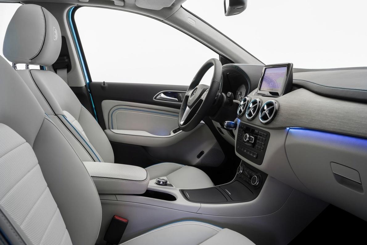 2012款 奔驰 B级 Electric Drive Concept 官图 座椅空间
