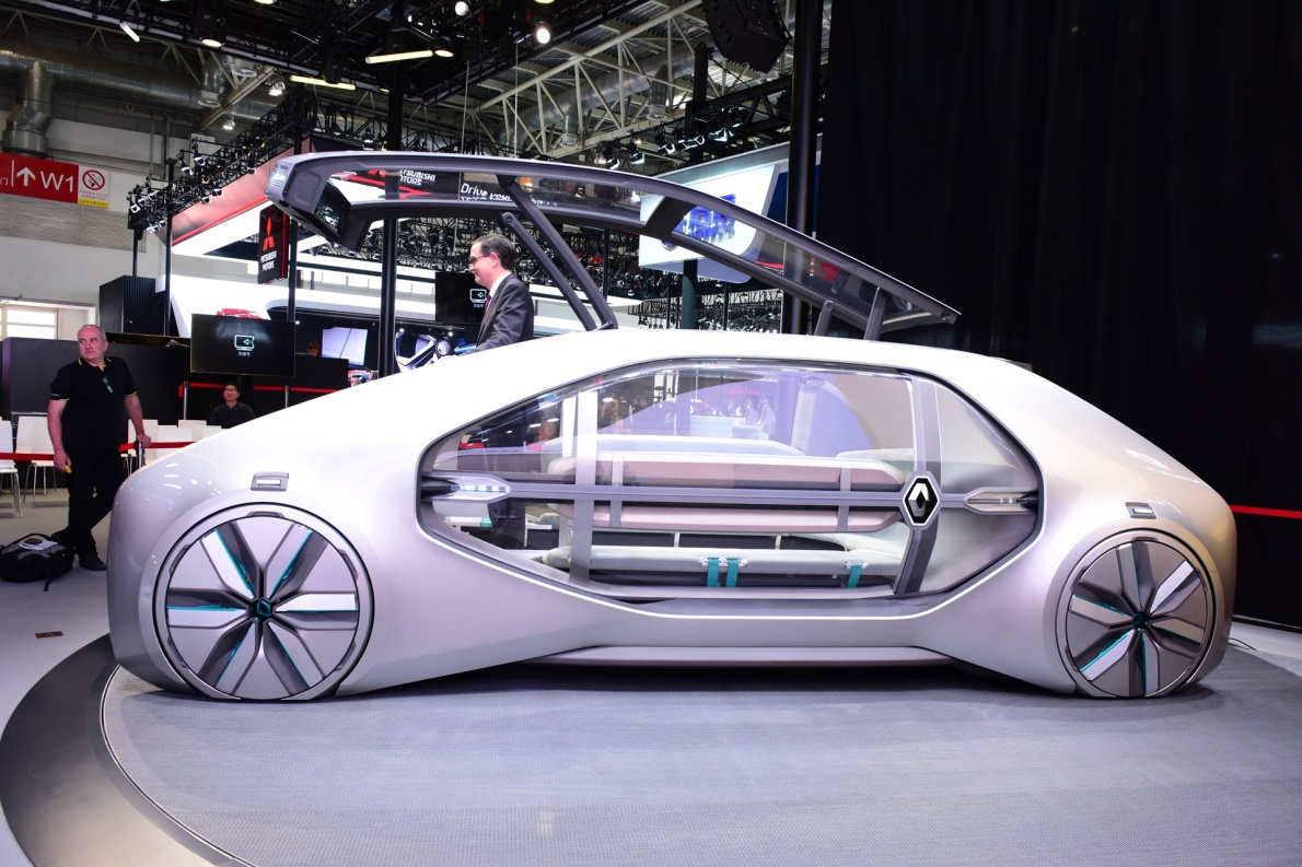 2018款 雷诺 EZ-GO 车展 外观