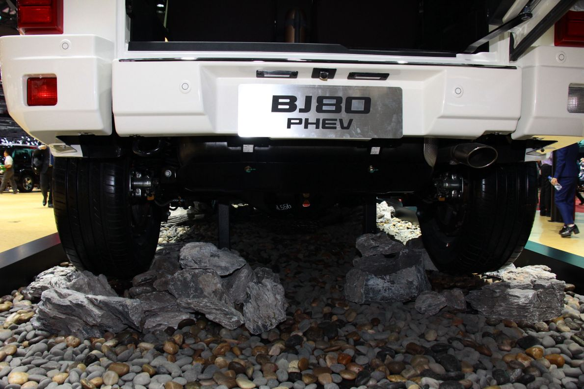 2017款 北汽BJ80PHEV