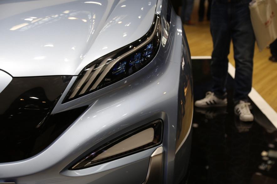 2018款 北汽新能源 EX3 基本型 车展 细节