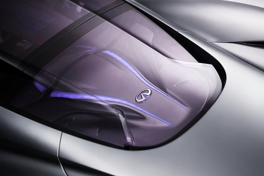 2012款 英菲尼迪 Emerg-E Concept 官图 外观细节
