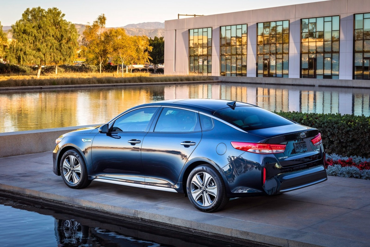 2017款 起亚 K5(进口)Hybrid 官图 外观