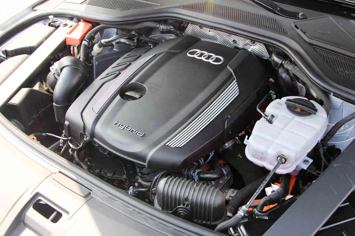 2014款 奥迪A8L 40 Hybrid 实拍 动力底盘