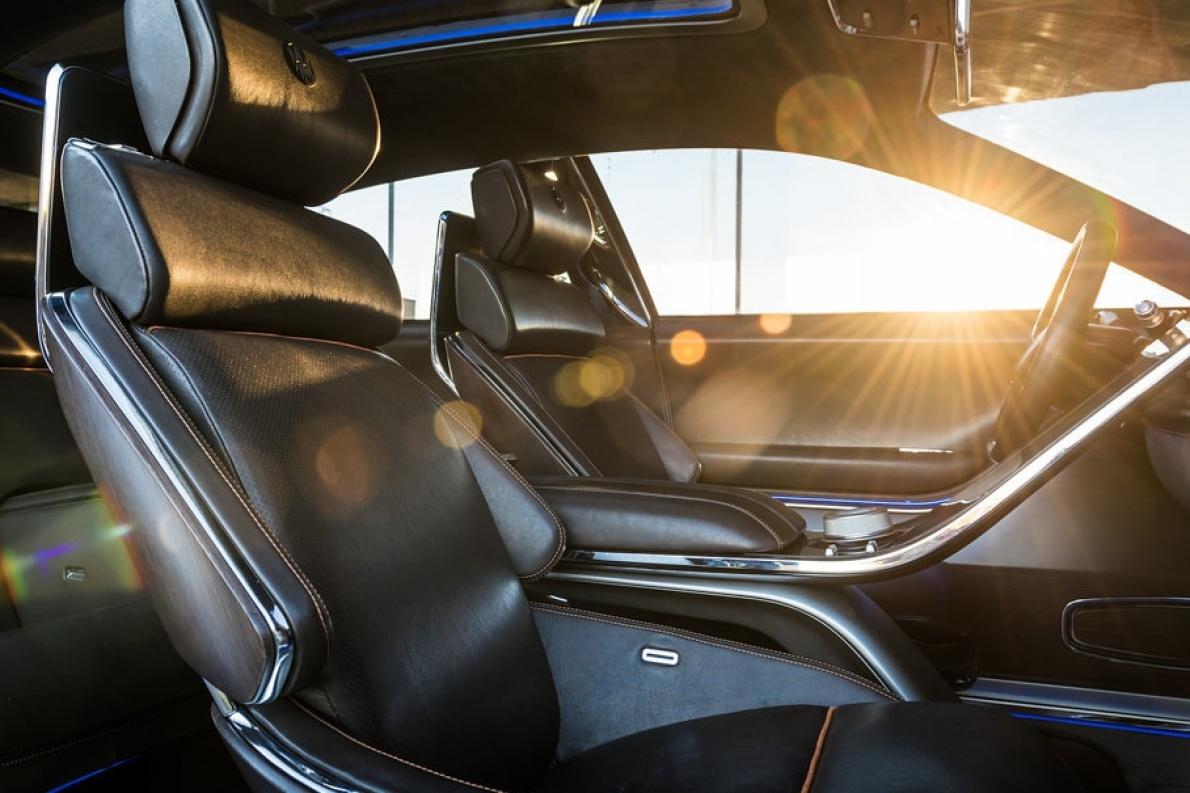 2017款 正道 H600 Concept 官图 座椅空间