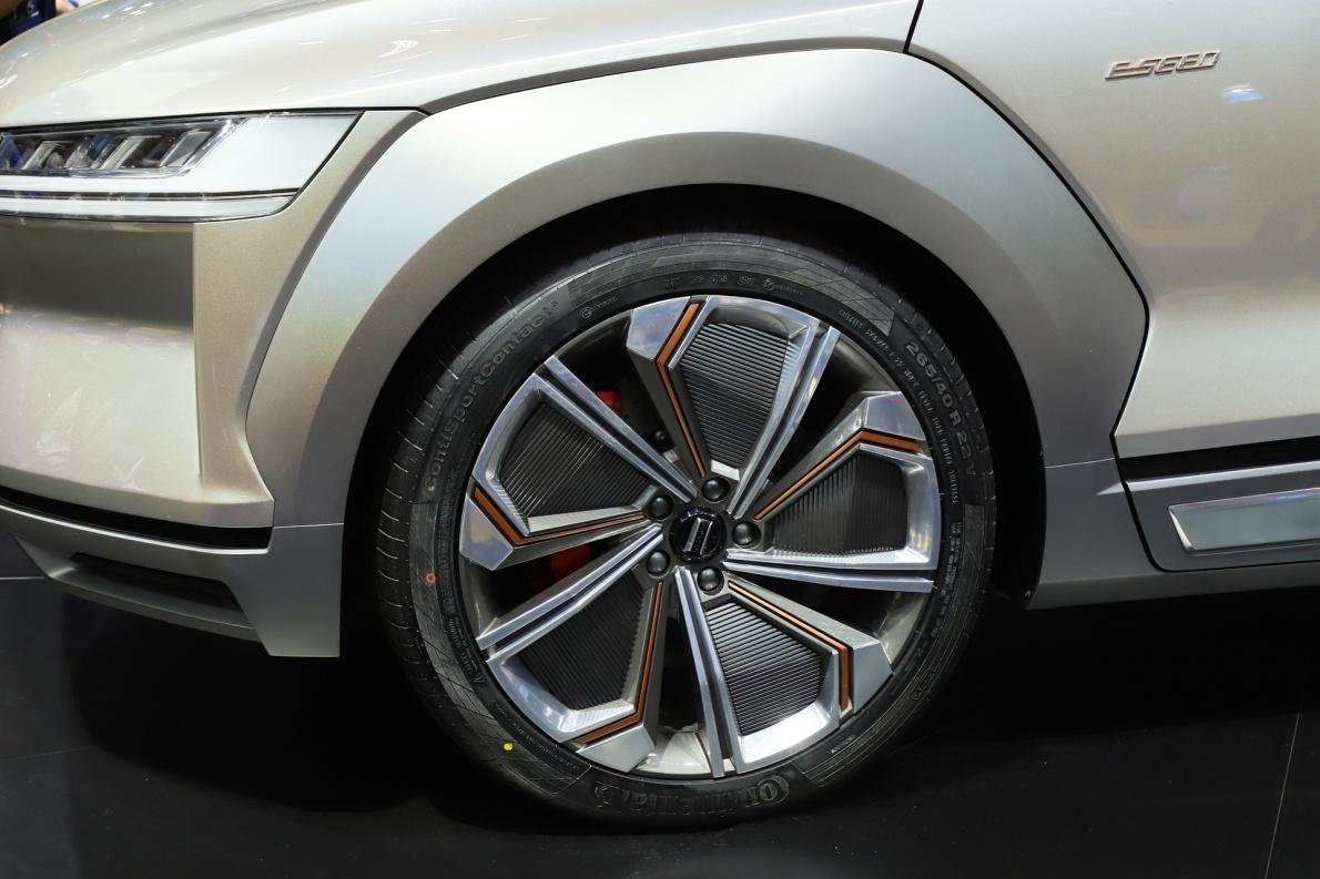 2018款 比亚迪 E-SEED Concept 车展 细节