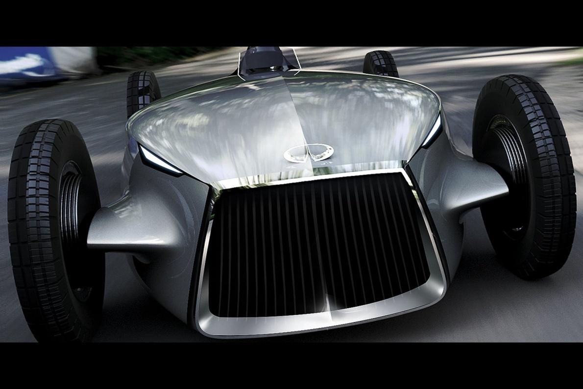 2017款 英菲尼迪 Prototype 9 Concept 官图 细节