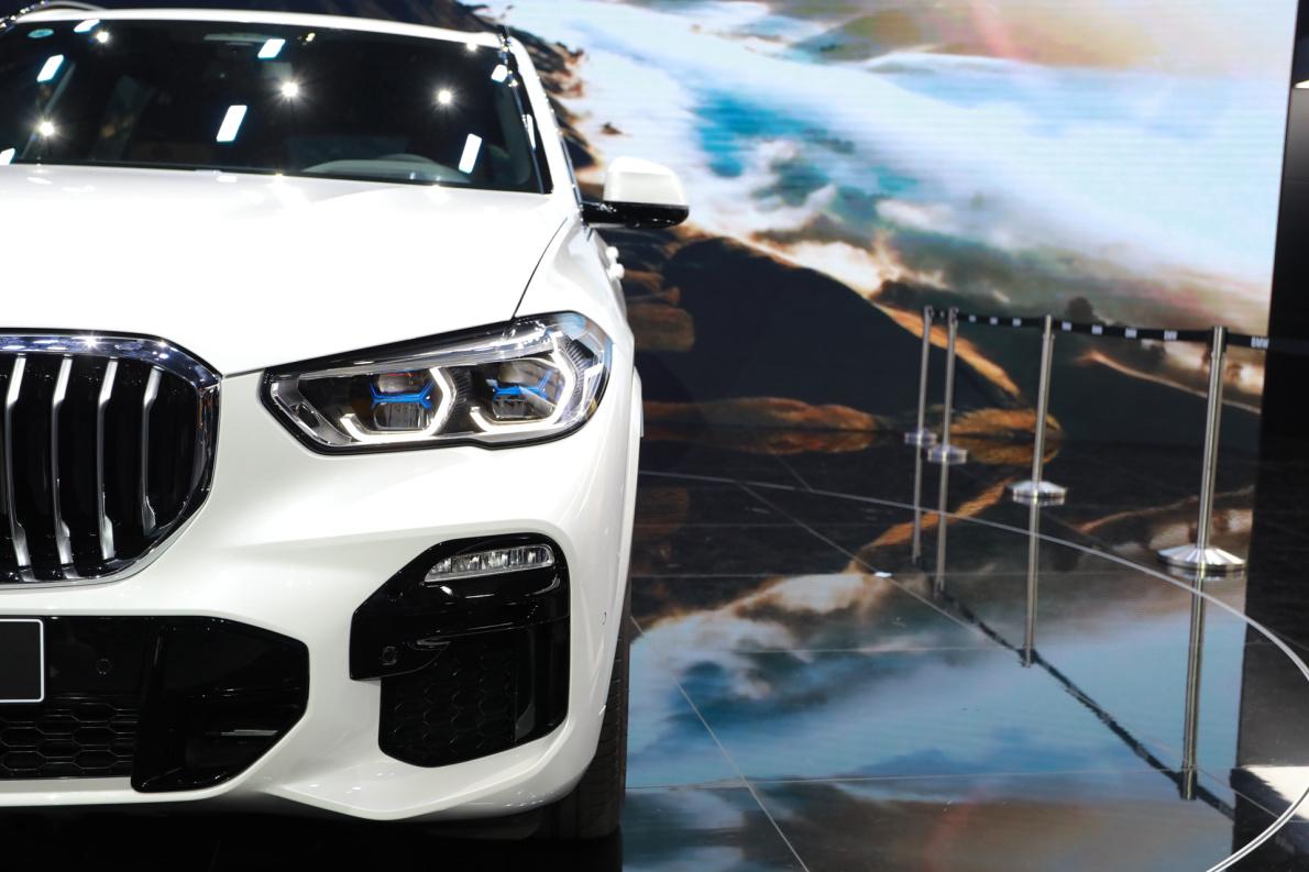 2019款 宝马 X5 xDrive40i 车展 细节