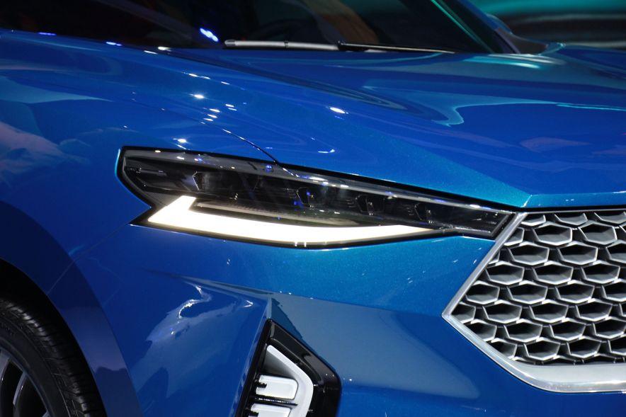 2017款哈弗HB-03 Hybrid 车展 细节