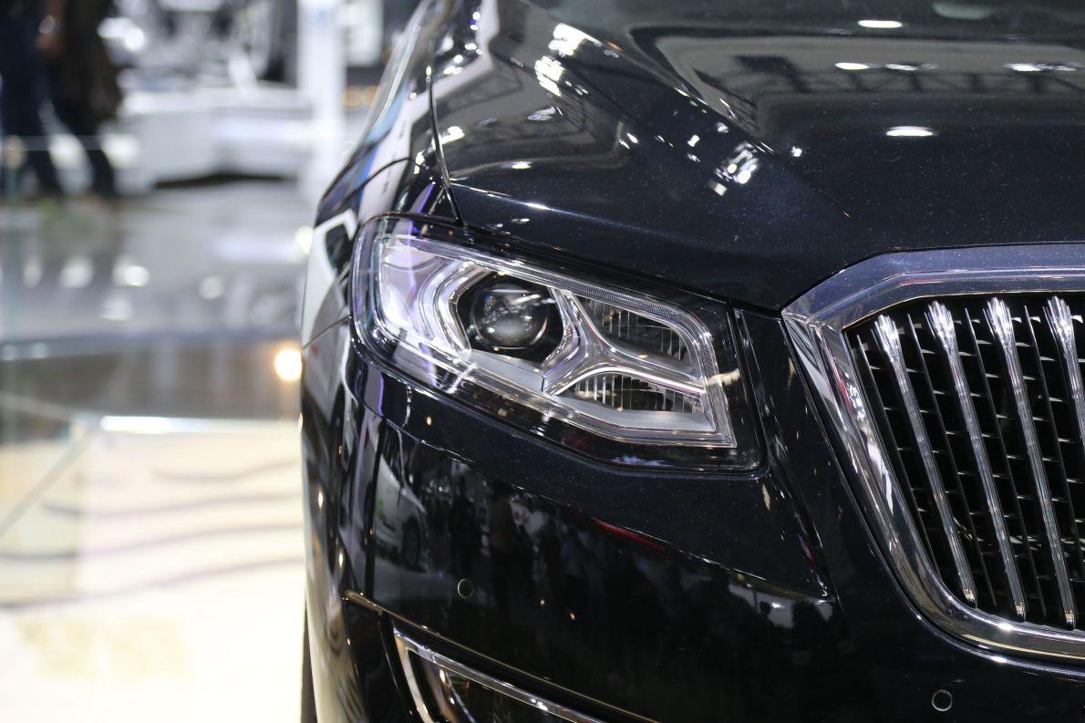 2016款 红旗H7 PHEV 车展 外观细节