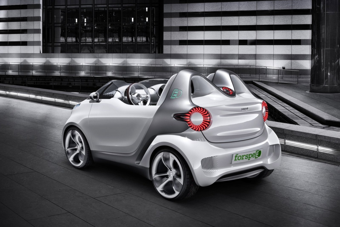 2011款 Smart forspeed Concept 官图 外观