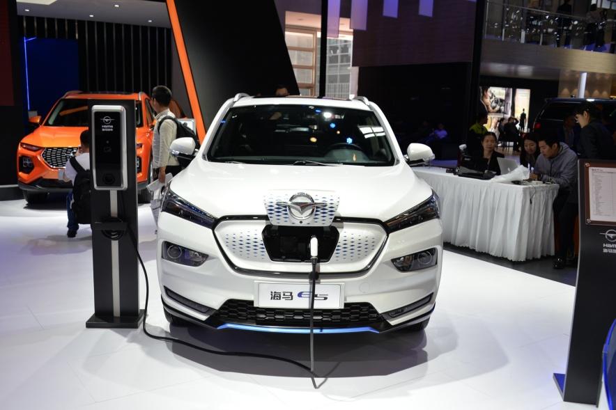 2018款 海马 E5 基本型 车展 外观