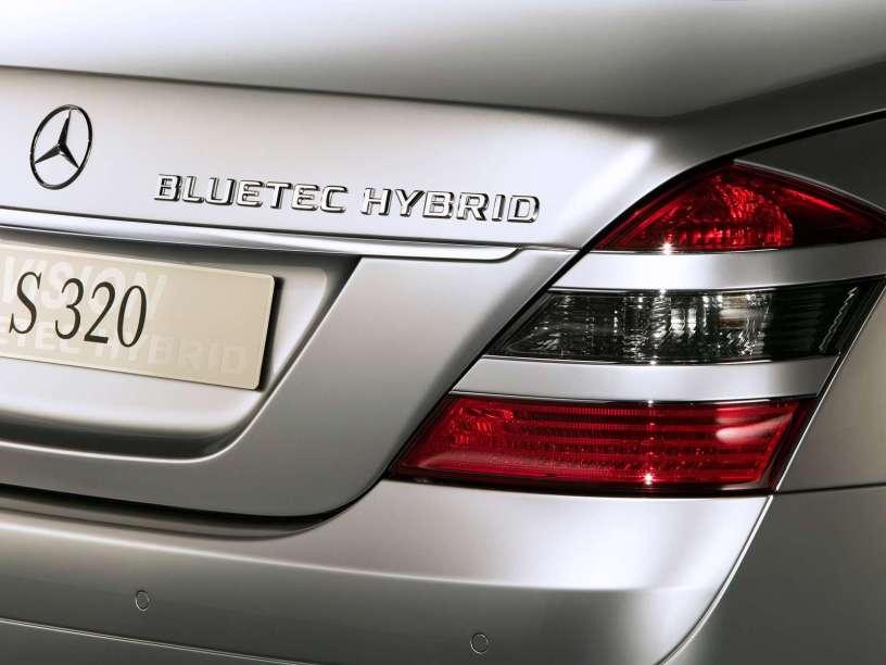 2005款 奔驰 S级 Bluetec Hybrid Concept 官图 外观细节
