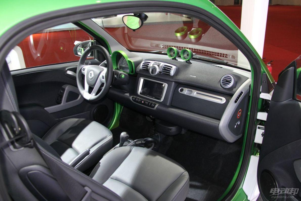 2014广州车展 smart fortwo  EV