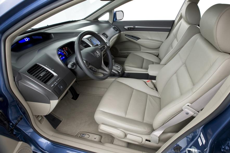2009款 本田 思域 Hybrid 官图 座椅空间