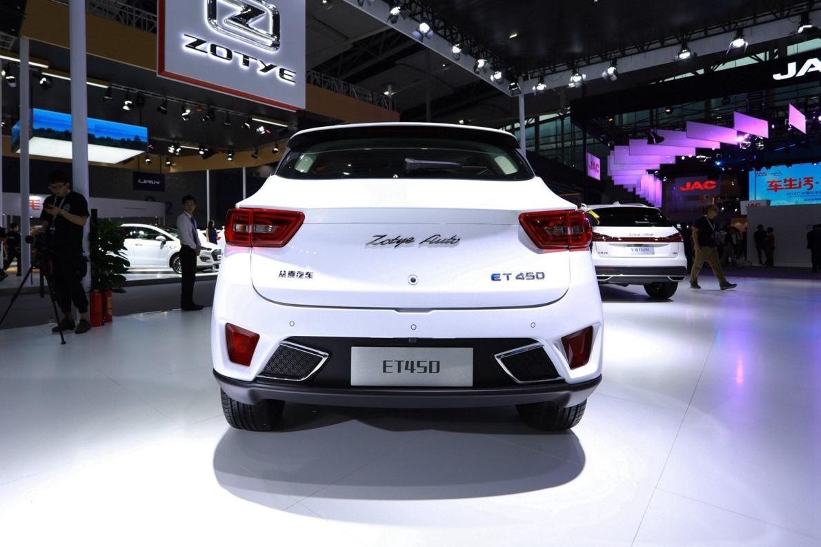 2019 众泰 T300EV ET450 白色 车展 外观