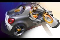 2012款 Smart for-us Concept 官图 外观